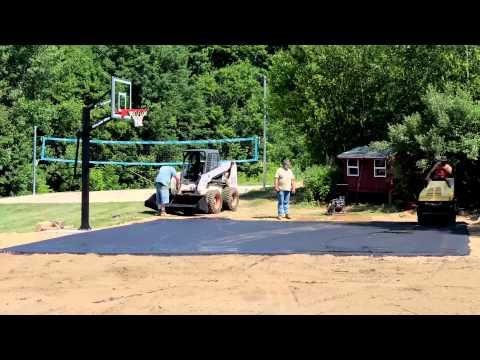 Basketball Court Timelapse