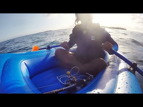 Fishing Jervis Bay In A $41 Inflatable Boat