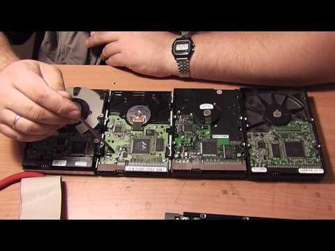 Hard Disk Drive (Жесткие диски) прошлое, настоящее, будущее - Обзор