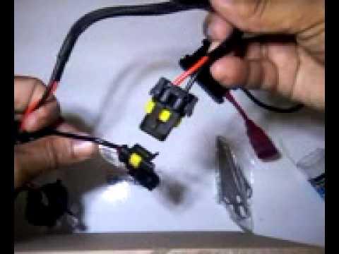 Kit Xenon H1 H3 H4 H7 Veja a Instalação simples passo-a-passo