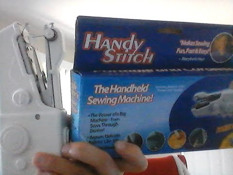 Handy Stitch Genie's Tailor Not Sewing YouTube New Handy Stitch Sewing Machine Not Stitching Properly