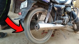 how to start motorcycle without kick and self  ?
