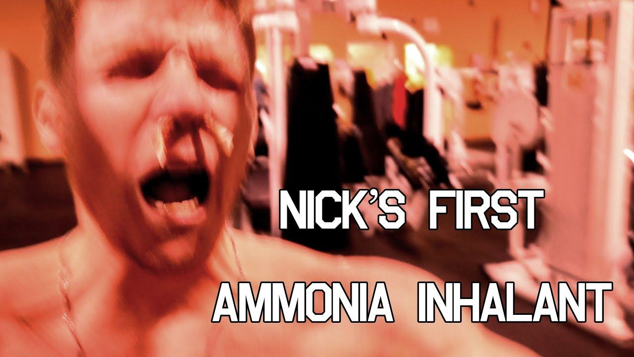 Jujimufu gives Nick Simpson his 1st Ammonia Inhalant