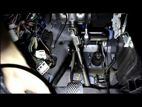 Замена троса сцепления на Daewoo Matiz Дэу Матиз 0,8 2011 года