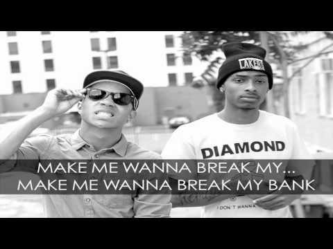 New Boyz Break My Bank ft. Iyaz Official Lyric Video