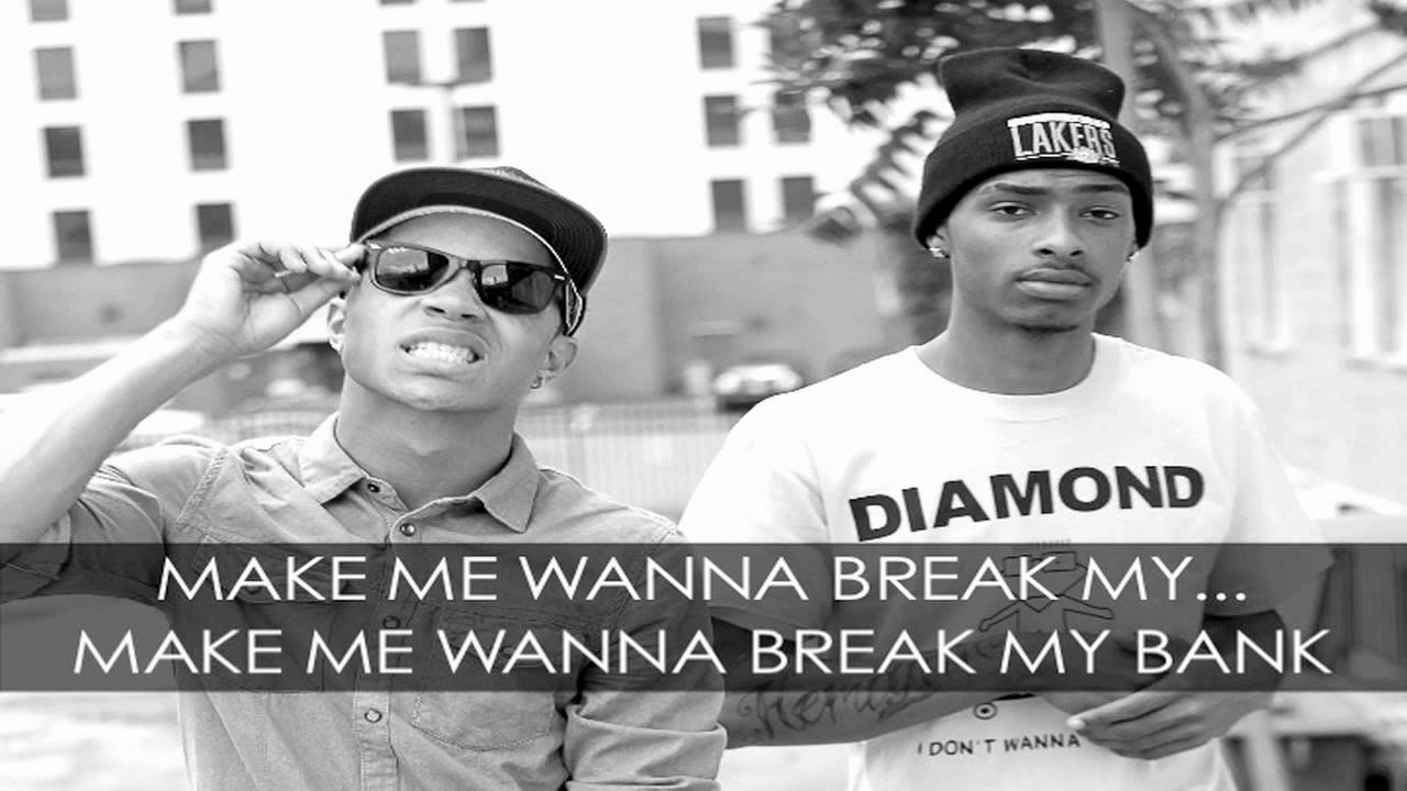 New Boyz Break My Bank ft. Iyaz Official Lyric Video