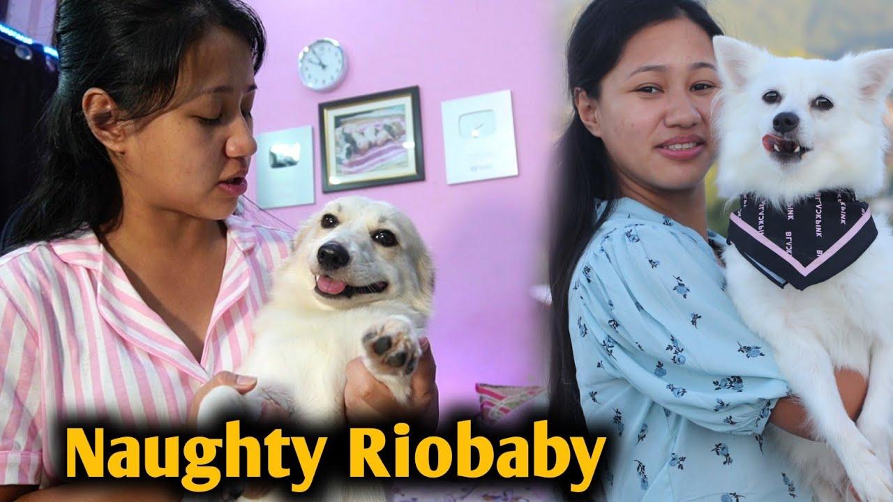 Riobaby Jada Hi Naughty Ho Gaya | Kulotobaby Ghum Ke Aayi Meenu Massi Ke Ghar Main @