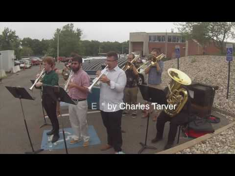 Hartt School Brass players perform at Library expansion opening