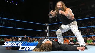 Wyatt brings darkness to Ambrose's face-to-face with Ziggler: SmackDown Live, Aug. 2, 2016