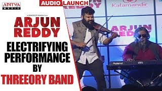 Electrifying Performance by Threeory Band @ Arjun Reddy Audio Launch || Vijay Devarakonda || Shalini