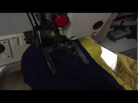 Quality GDB 210D Pattern Sewing Machine  for garment factory or shoe factory.-1