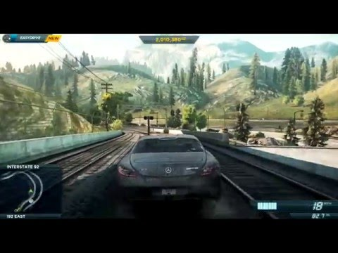 Need for Speed: Most Wanted - 113 - Mercedes-Benz SLS AMG  - PS3 Let's Play