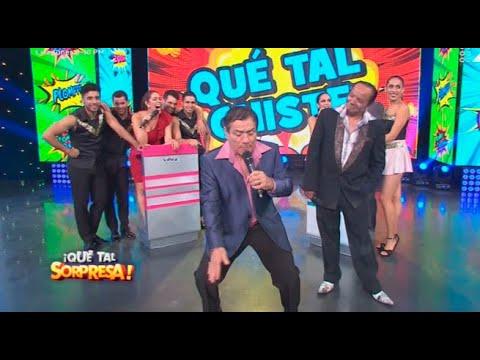 Melcochita vs. el 'Chato' Barraza en ¡Qué tal chiste!
