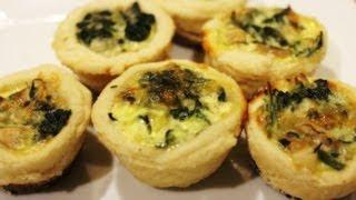 Spinach, Cheese, Artichoke Quiche