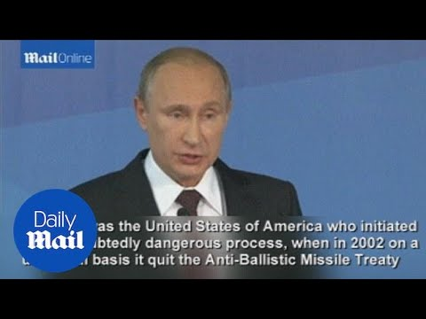 Russia's Putin accuses U.S. of damaging world order - Daily Mail