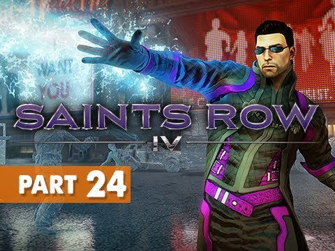Saints Row 4 Gameplay Walkthrough Part 24 - Matt Miller Loyalty Nyteblayde Mission