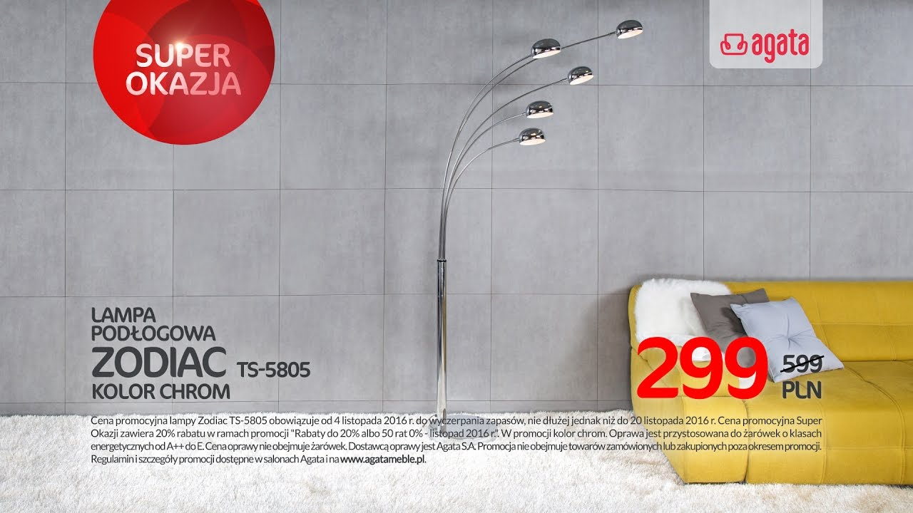 Lampa Zodiac Ts 5805 Youtube