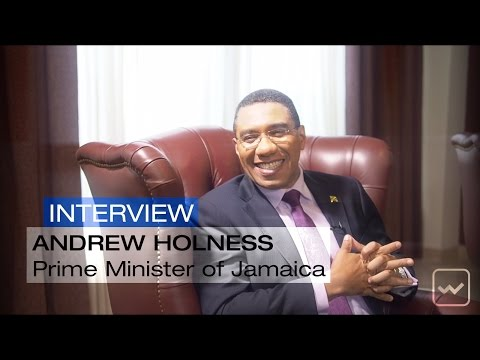 Andrew Holness, Prime Minister of Jamaica - World Investment