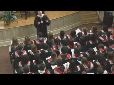 2016 Baccalaureate Sermon, President J. Cameron West