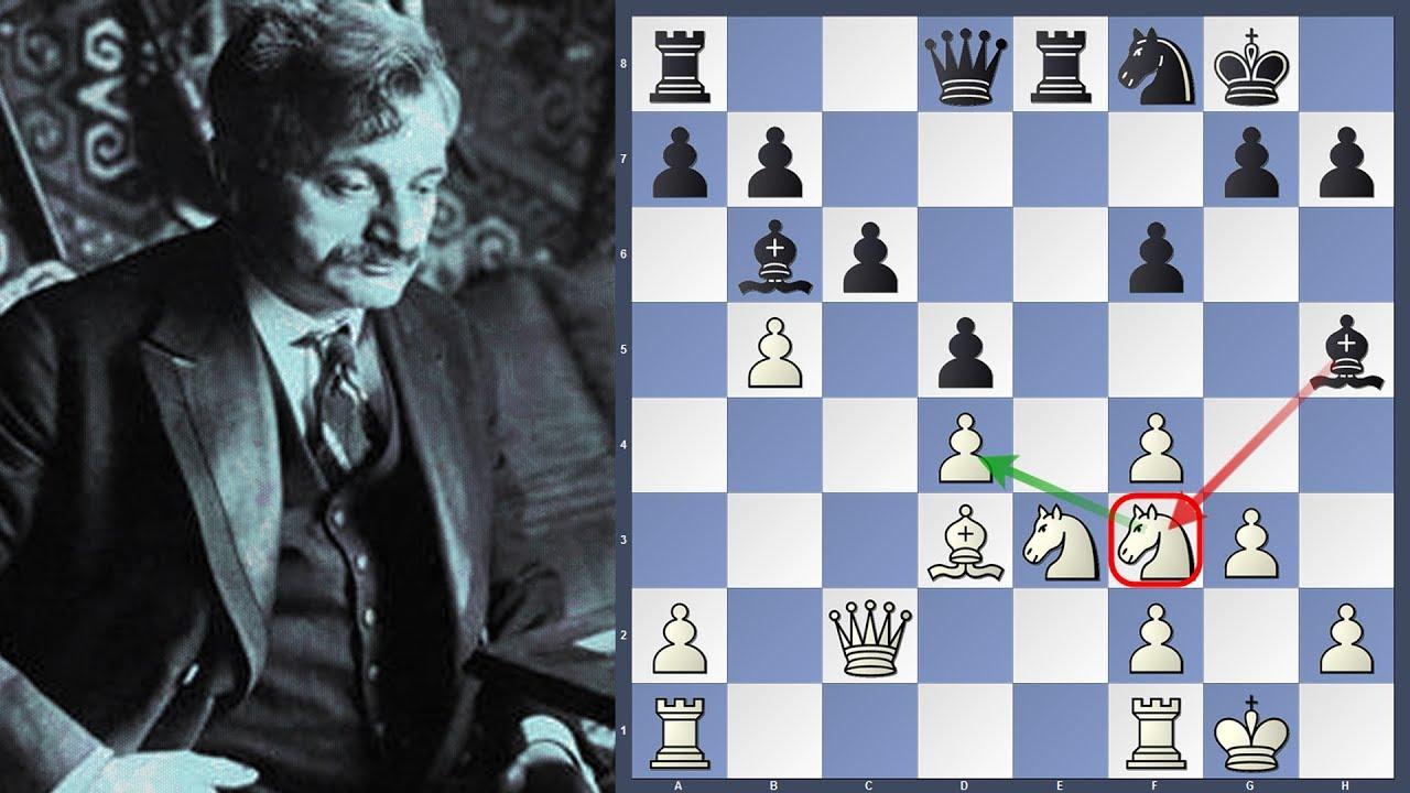 Brilliant Black Play Exposing Weaknesses |Alexander Alekhine vs Emanuel  Lasker | New York 1924