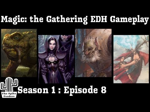Magic: the Gathering Commander Gameplay  The Spike Feeders S1E8 Budget cEDH
