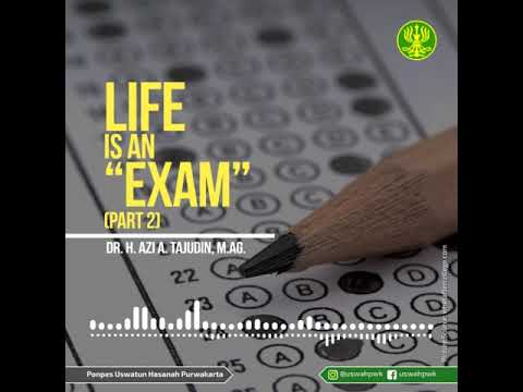 [SHORT AUDIO] Life Is An Exam