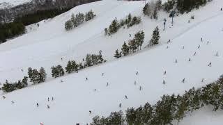 Голый спуск горнолыжный курорт Хвалынск 20 марта 2021
