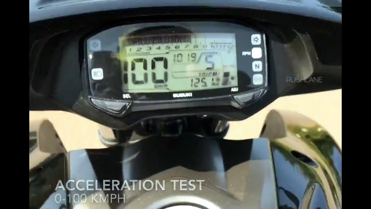Suzuki Intruder 150 Test | Acceleration | ABS Braking | Vibrations