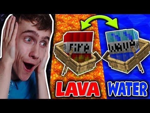 NOOIT LAVA VS WATER TNT TEGELIJK! (Experiment)