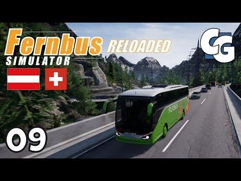 Fernbus Reloaded - Ep. 9 - Austria / Switzerland DLC - Fernbus Simulator Gameplay