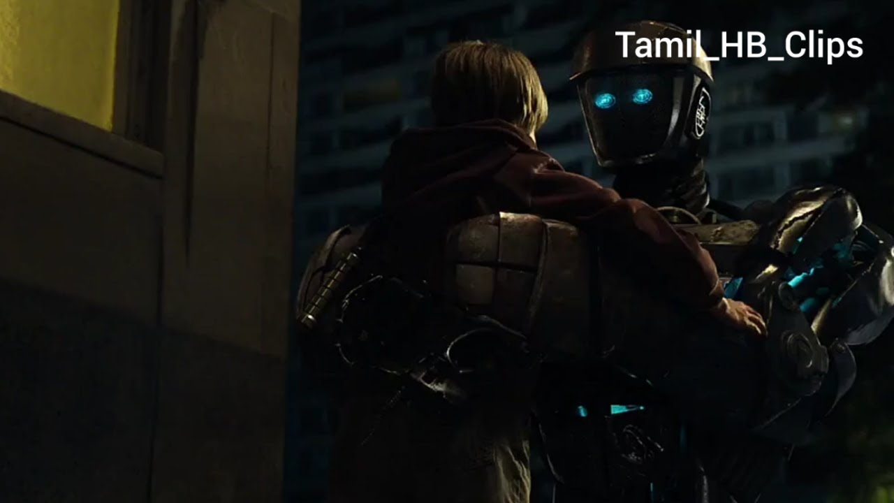 Real Steel Movie Max And Atom Scene In Tamil