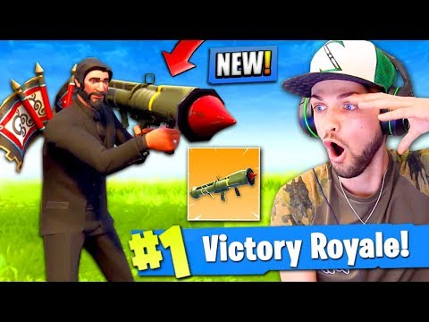 *NEW* LEGENDARY GUIDED MISSILE GAMEPLAY in Fortnite: Battle Royale!