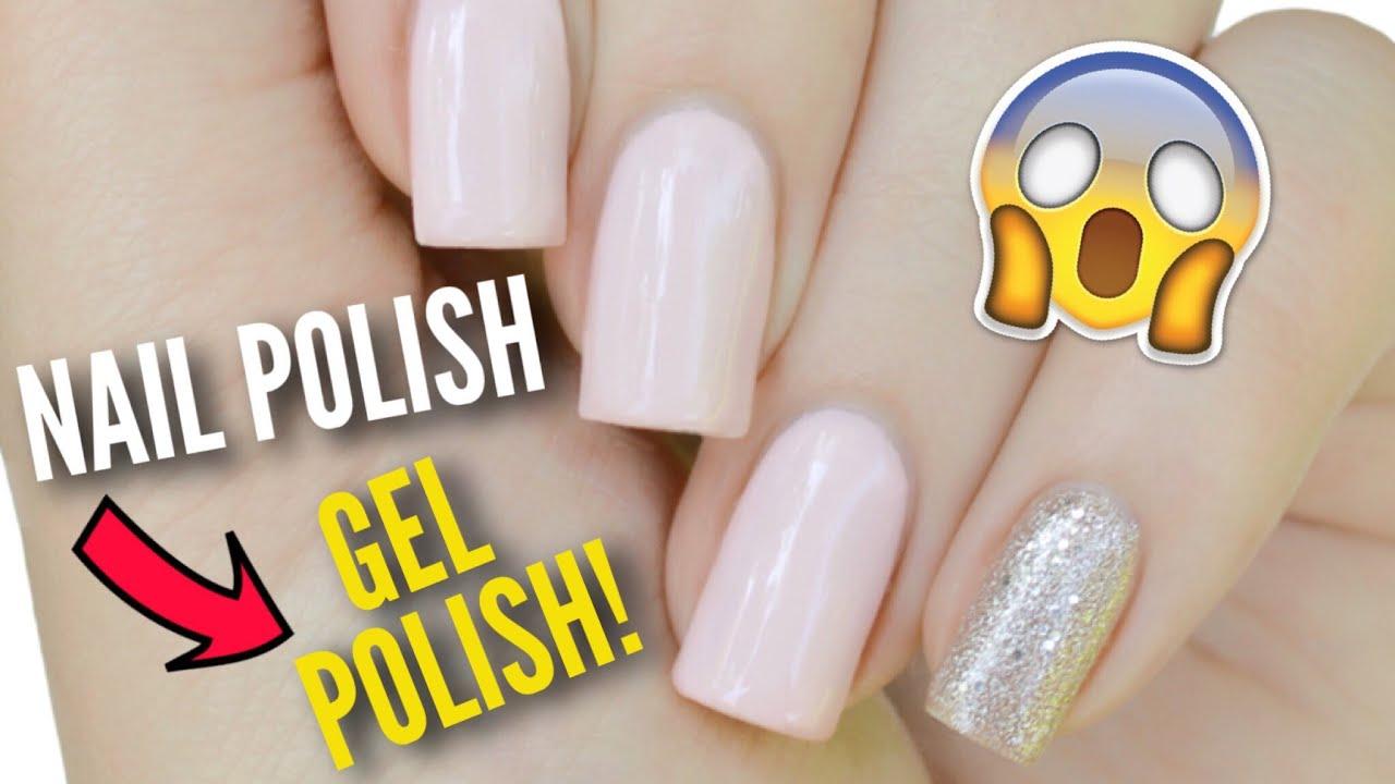 Transform Your Nail Polish Into GEL Polish! - YouTube