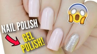 Transform Your Nail Polish Into GEL Polish!