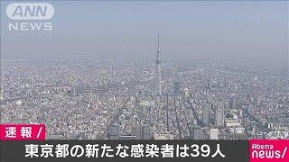 東京都の新たな感染者は39人 2日続けて100人下回る(20/04/27)