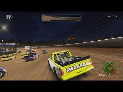 NASCAR Heat 2 Online Race At Eldora!