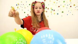 Сюрпризы в шариках от Барби и Кена. Игры для детей