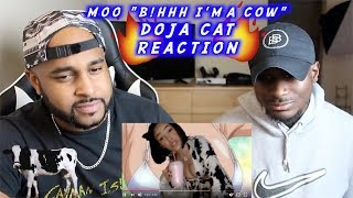 MOO x DOJA CAT | THIS A BANGER I DON'T CARE | REACTION