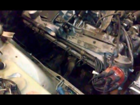 BMW E28 Запуск двигателя  после долгих 11-Х лет простоя......