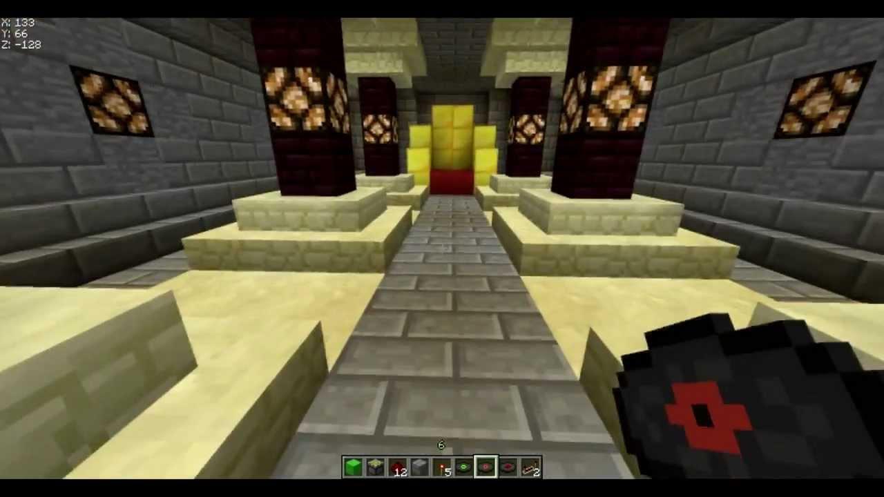 Minecraft [TUTO] Zamek na płyte