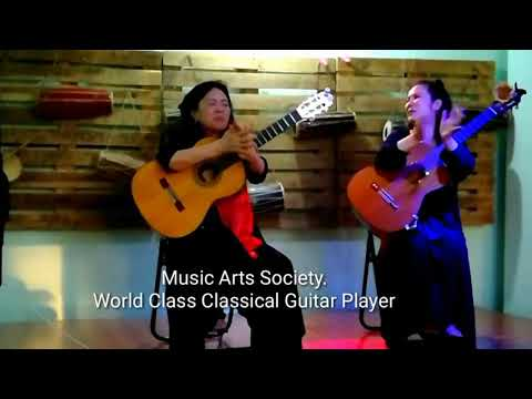 Worldclass Classical Guitar Players | Inspiration For Women's |Nepal Music Arts Society |
