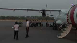Myanmar 2012 - Flight Nyaung U to Yangon (1210)