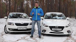 Mazda 3 против Skoda Octavia Игорь Бурцев.(, 2015-01-02T13:35:15.000Z)
