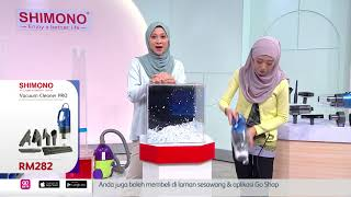 Pembersih Vakum Terlaris - Shimono Vacuum Cleaner PRO | Go Shop