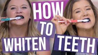 4 DIY Teeth Whitening Tricks (Using Household Products) (Beauty Break )