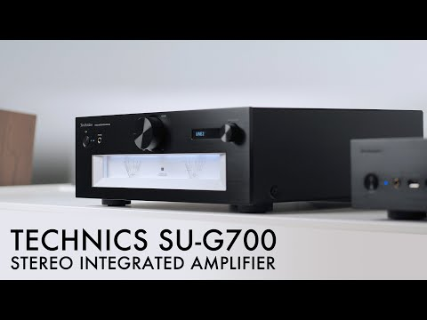 New REFERENCE Amp! Technics SU-G700 Stereo Integrated Amplifier Review