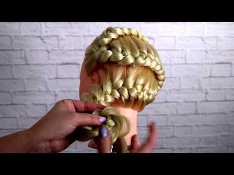 Простые косы. Урок плетения кос. Зигзаг