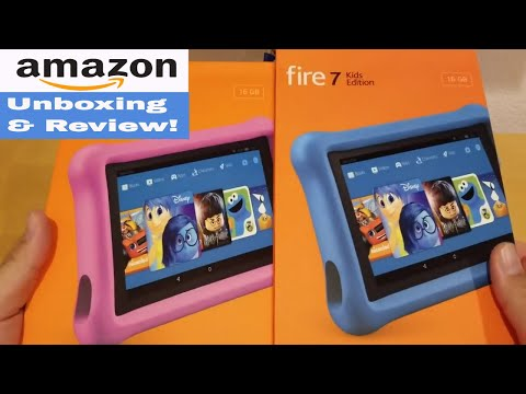 Amazon Fire Tablet 7 Kids Edition - Unboxing And Review