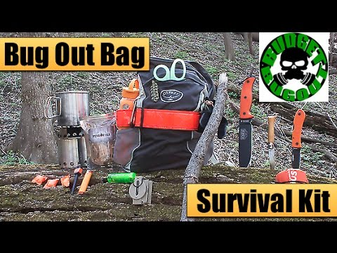 Bug Out Bag 2015 — Go Bag / 72 Hour Survival Kit — Compact, Lightweight, & Affordable