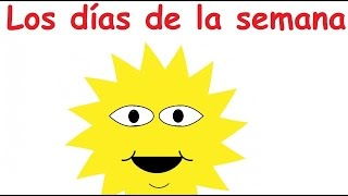 """""""Days of the Week"""" in Spanish (sing-along song)"""
